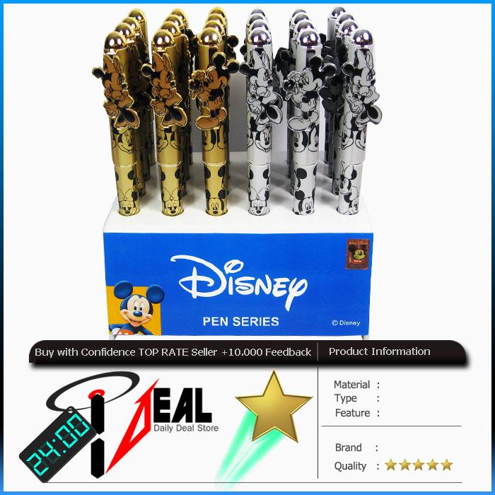 Disney Mickey Minnie Ball Point Pen Set You Pick