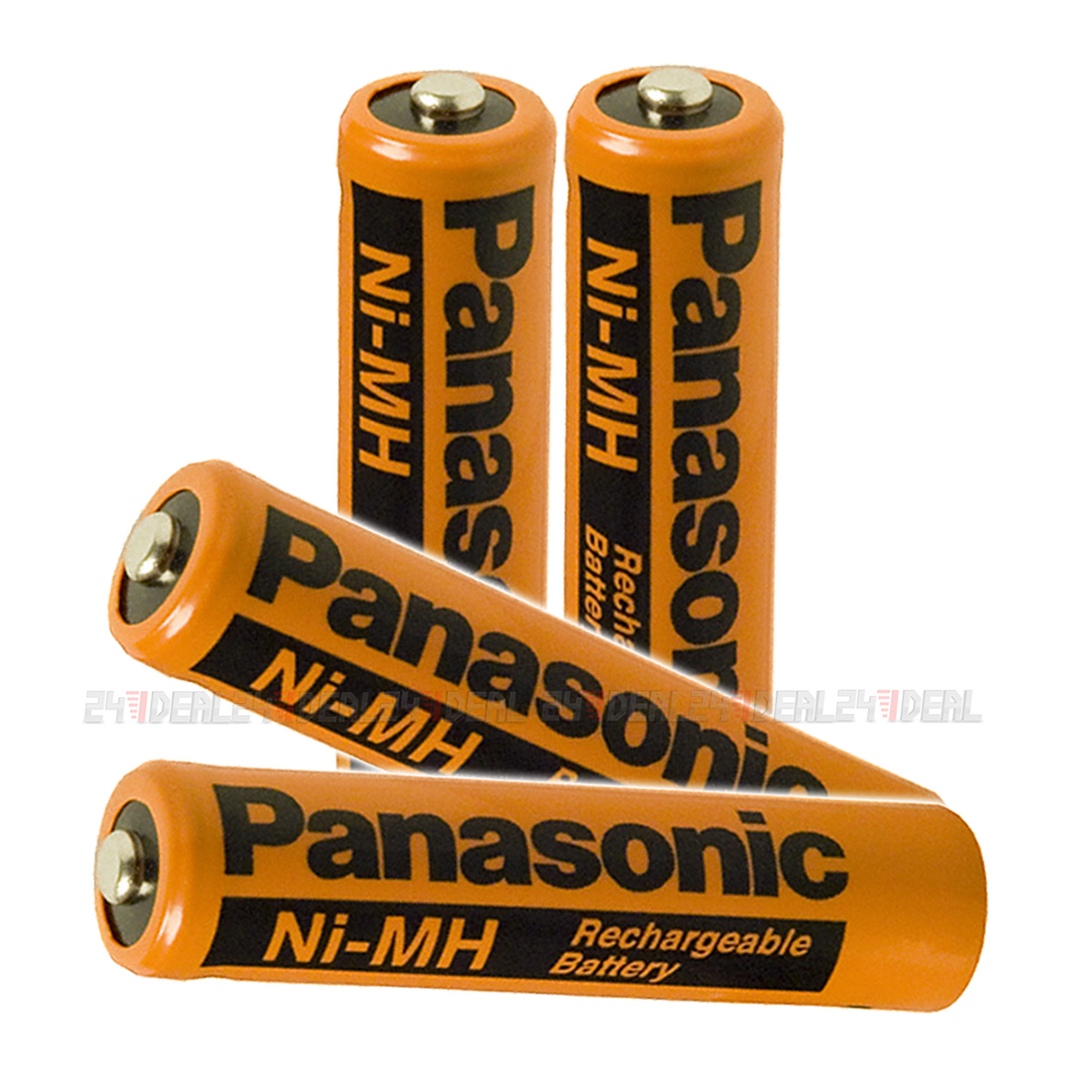 4pcs panasonic nimh aaa 700 mah rechargeable battery for cordless phones 1 2v ebay. Black Bedroom Furniture Sets. Home Design Ideas